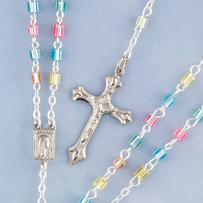 Multicolor Child Rosary - 05337 Image