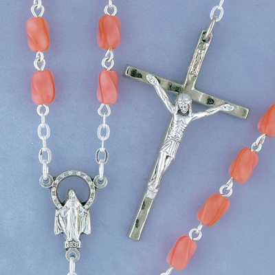 Facetted Glass Rosary - 115/PK Image