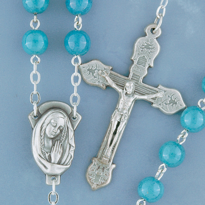 Marble Look Rosary - 982 Image