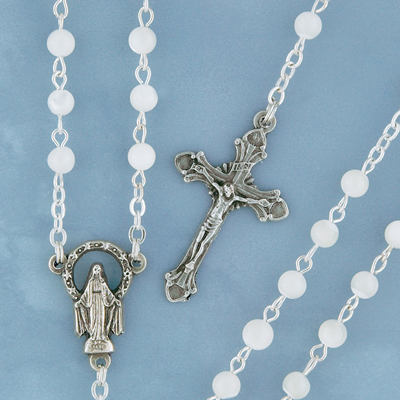 Mother of Pearl Rosary - MOP/5 Image