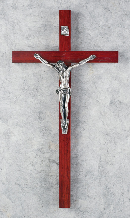 15in. Rosewood Crucifix - 17323 Image