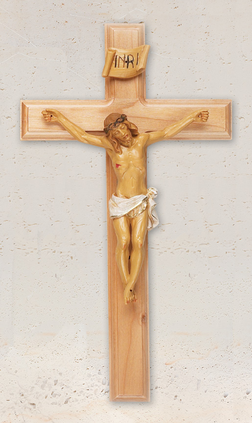 12in. Maple Crucifix - 17/635 Image
