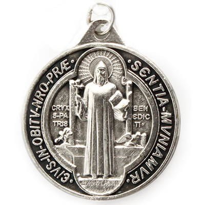 1in. St. Benedict Medal - 1127 Image