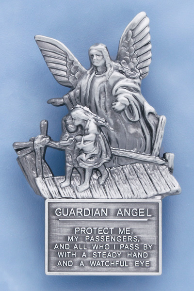 Guardian Angel Protect Us Visor Clip - 20541 Image