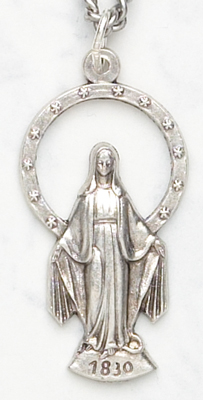 1.25in. Miraculous Medal - 242 Image