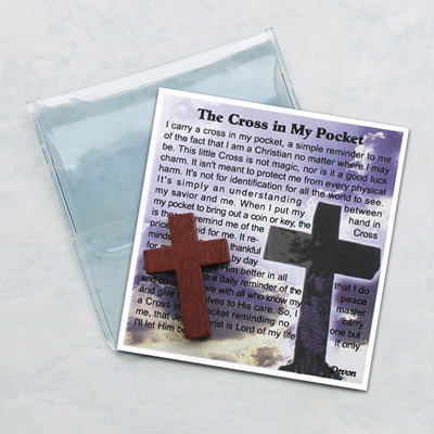 Cross in My Pocket Prayer Folder - 83/CR Image