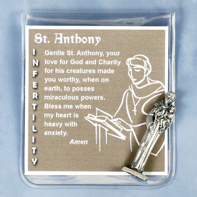St. Anthony Infertility Prayer Folder - 83/SANT Image