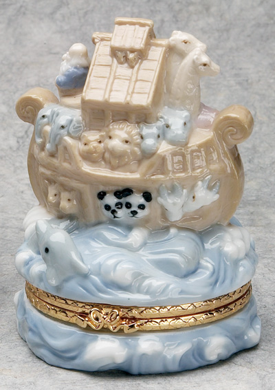 Porcelain Keepsake Box - C0156 Image
