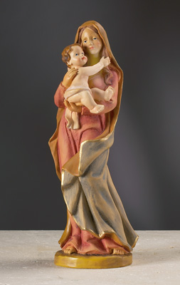 Mother and Child Figurine - 15237 Image