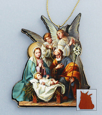 Wood Christmas Ornament - 18915 Image