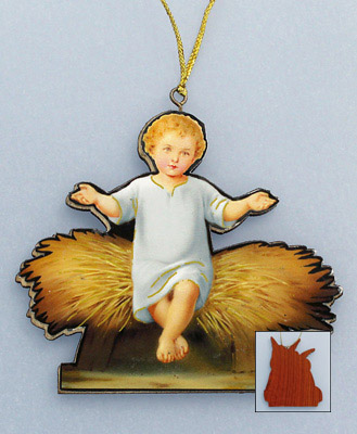 Wood Christmas Ornament - 18916 Image