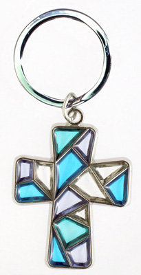 Stained Glass Keychain - 30768/B Image