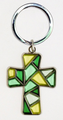 Stained Glass Keychain - 30768/G Image