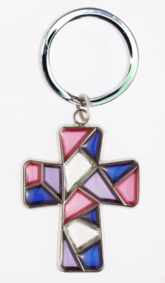 Stained Glass Keychain - 30768/P Image