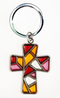 Stained Glass Keychain - 30768/R Image