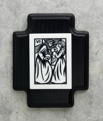 Scrimshaw Station of the Cross - 39206 Image