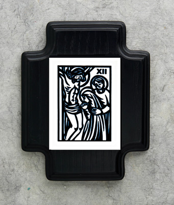 Scrimshaw Station of the Cross - 39212 Image