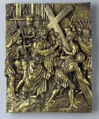 Bronze Stations of the Cross - 39402 Image