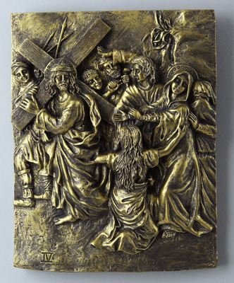 Bronze Stations of the Cross - 39404 Image