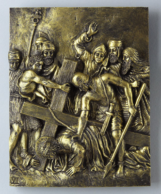 Bronze Stations of the Cross - 39407 Image
