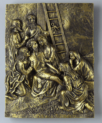 Bronze Stations of the Cross - 39413 Image
