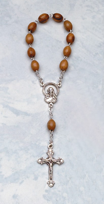One Decade Wood Rosary - 423 Image