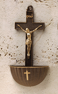 Holy Water Font - 453/GN/BZ Image