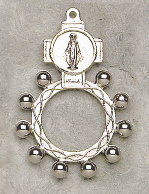 Miraculous Rosary Ring - 4845/LOG Image