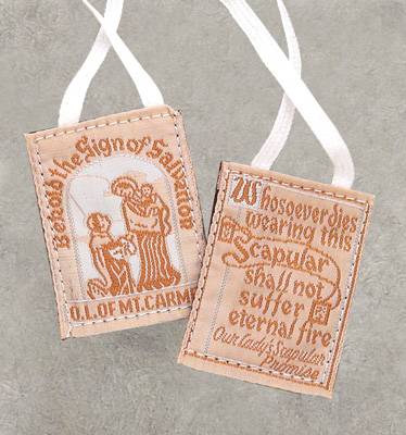 Cloth Scapular - SC/CL/WH Image