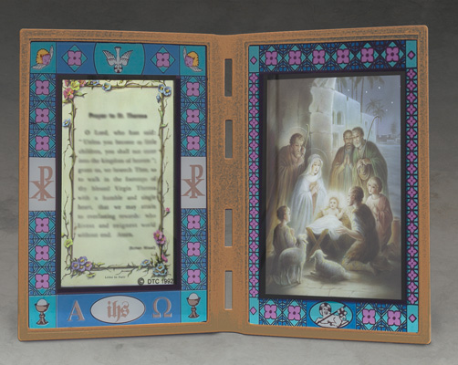 Chrismas Plaque - X40/NAT Image