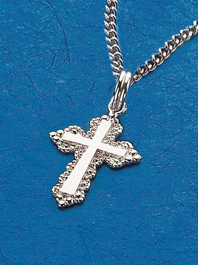 Sterling Silver Cross Pendant - 52210 Image