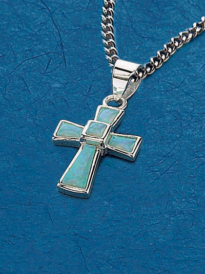 Sterling Silver Cross Pendant - 52242 Image