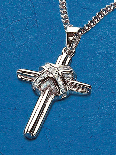 Sterling Silver Cross Pendant - 52318 Image