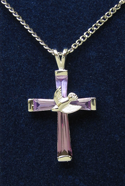 Sterling Silver Cross Pendant - 52631 Image