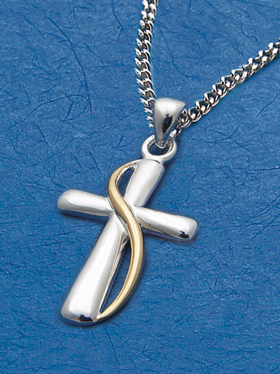Sterling Silver Cross Pendant - 52892 Image