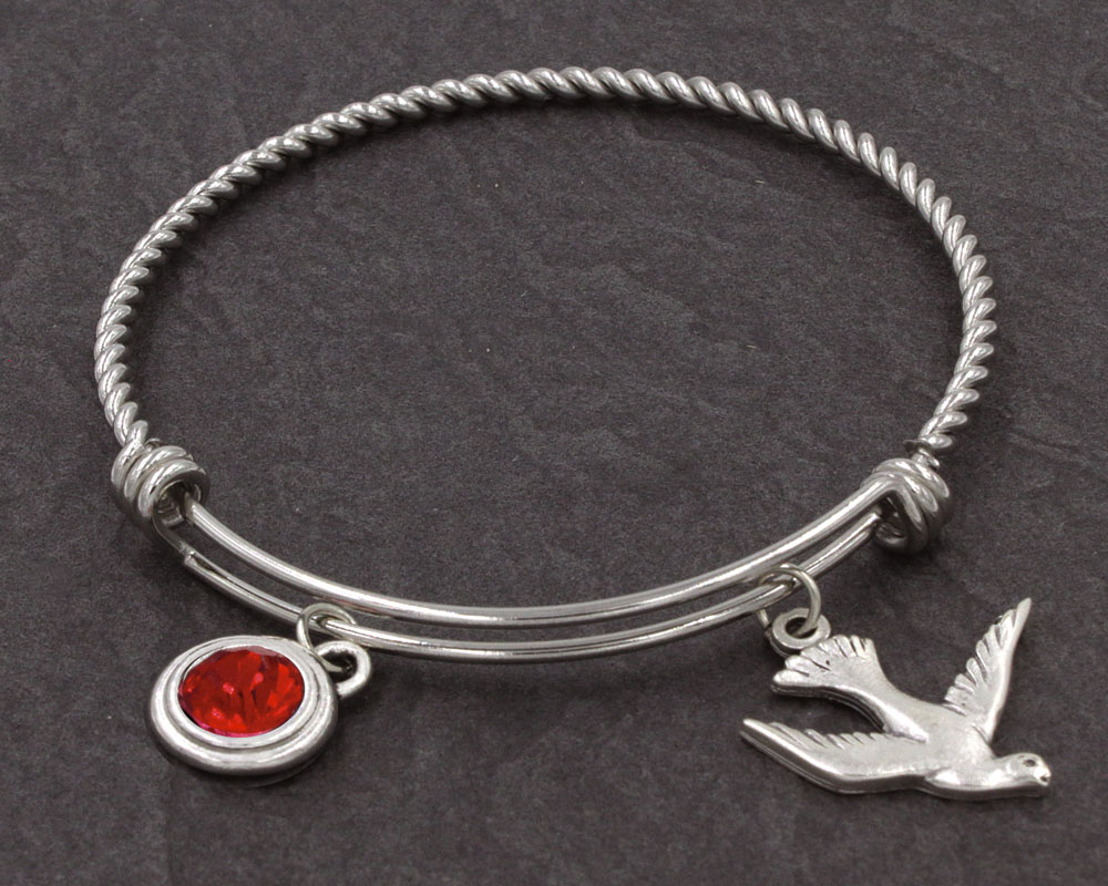 Holy Spirit Bangle Bracelet - 45060/HS Image