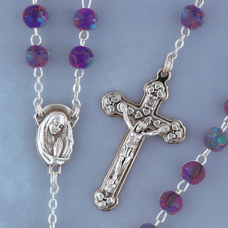 Cloisonne Rosary - 6470/AM Image