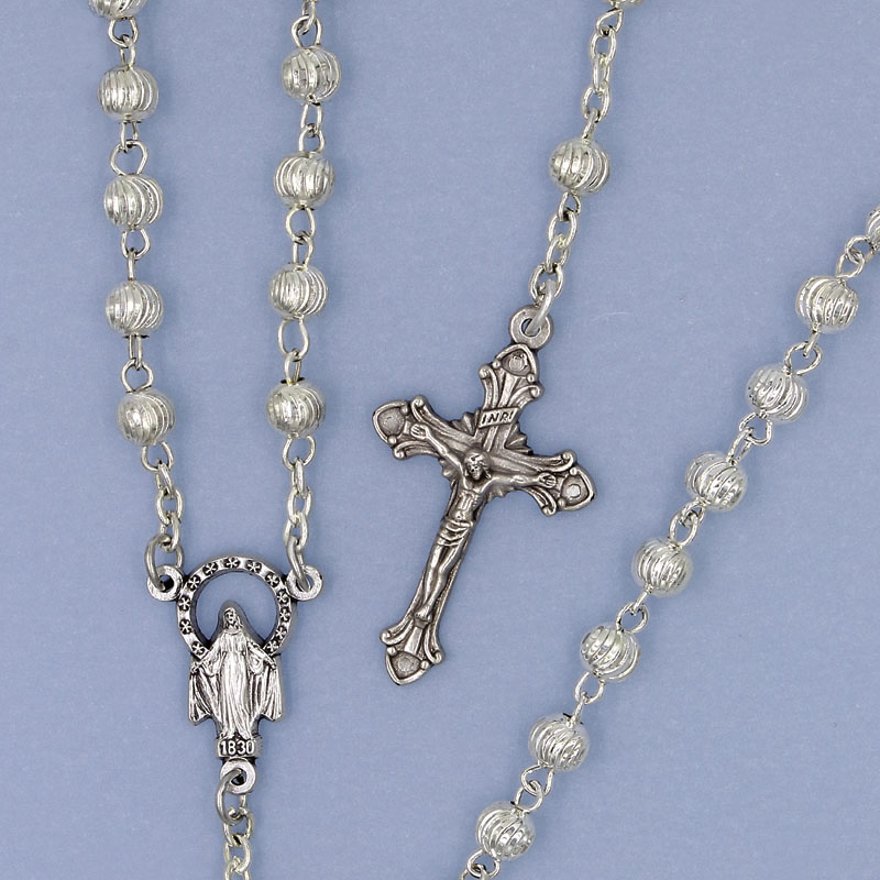 Metal Bead Rosary - 907/S Image